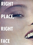 """RIGHT PLACE, RIGHT FACE"" 1 - U.S. Mademoiselle 10-1984 by Michel Comte"
