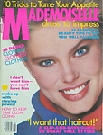 U.S. MADEMOISELLE Aug. 1983 cover by Steven Meisel