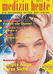 german medizin heute July 1999 cover by Hans Feurer (Biotherm pic)