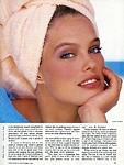"U.S. New Woman Nov. 1984 ""Perfectly Beautiful Skin"" by Jacques Malignon"