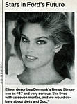 b/w 1st Ford sedcard pic - U.S. People 16.05.83 by Silberstein
