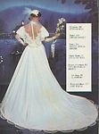 Reflections 1 bridal couture - U.S. Modern Bride 10-11 1983