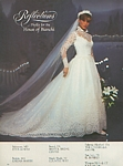 Reflections 3 bridal couture - U.S. Modern Bride 10-11 1983