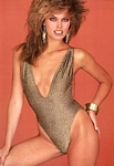 """Le charme..."" golden swimsuit - french SCOPE 1988 book by Jacques Silberstein"
