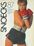 belgium SNOECKS 1987 book cover by Bert Stern