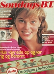 danish Söndags-B.T. 21. Oct. 1982 cover by Jette Ladegaard