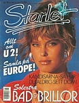 swedish Starlet no. 16 1987 cover by Gilles Bensimon