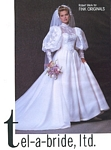 tel-a-bride, ltd. 2 bridal couture - U.S. Modern Bride 2-3 1985