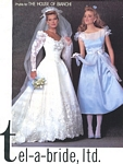 tel-a-bride, ltd. 5 bridal couture - U.S. Modern Bride 2-3 1985