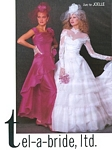 tel-a-bride, ltd. 6 bridal couture - U.S. Modern Bride 2-3 1985