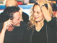 danish BILLED BLADET 26. Mar. 1998 - at Plan Danmark show with Thomas talking