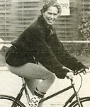 on bike at triathlon 1989? b/w