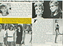 U.S. VOGUE Nov. 1982 The Face of the 80s article