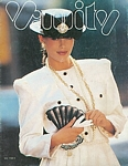 Vanity 1 cover - Autumn/Winter 1987