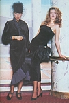 Vanity 11 w/ Tatjana Patitz - Autumn/Winter 1987