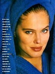 """FACIAL"" blue towel - VANIDADES 23.06.92 by Thierry Rouchon"