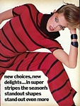 "U.S. VOGUE Dec. 1983 ""new choices"" 2 by Bill King"