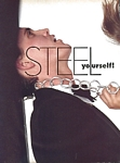 "U.S. VOGUE 3-1983 ""STEEL yourself"" 1 by Bert Stern"