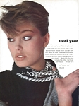 "U.S. VOGUE 3-1983 ""STEEL yourself"" 5 by Bert Stern"