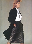 "U.S. VOGUE 9-1983 ""best dressed leathers"" 2 by Lothar Schmid"