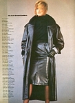 "U.S. VOGUE 9-1983 ""best dressed leathers"" 3 by Lothar Schmid"