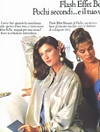 VICHY 1a Flash Effet w/ Rosemary Mc Grotha - ital. MODA 4-1986