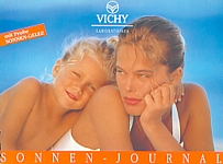 VICHY 44 VICHY Sonnen-Journal Solaire Securite summer - german 1992