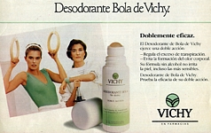 VICHY 17 Deodorant w/ Rosemary Mc Grotha - spanish unknown 5-1987